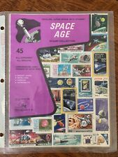 Space Age Stamp Collection set from around the world, Treat Hobby Products