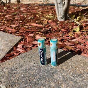 2x Sweet Papaya  Chapstick Brand New 100% Natural Lip Butter Stocking Stuffers