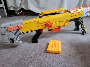 NERF Gun Longshot CS-6 N-Strike Series- Sniper Toy BlasterYellow