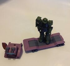 Bandai Gundam Sight Set. Zaku Ii Trailer Set. (City Set) Purple