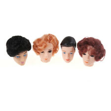 3D Eyes Doll Head With Hair For Barbies Boyfriend Ken Male Heads Toy AccessorieW