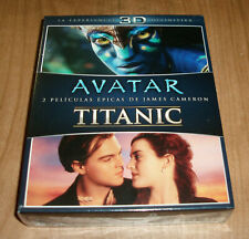 Avatar Blu-Ray 3D+2D+DVD / Titanic 3D +2D 6 Discs New (Sleeveless Open) a-B-C
