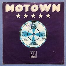 Smokey Robinson - Vitamin U / Holly - Motown TMG-1076 VG+ Condition A1/B1