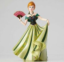 New DISNEY SHOWCASE Figurine ANNA FROZEN Figure Sculpture Green Gown ARENDELLE