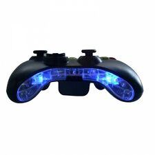 CUSTOM XBOX 360 Pre-Wired LED parte inferiore del paraurti BAR PIASTRA MICROFONO Inserisci KIT mod (blu)