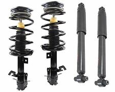 Full Set 2 Front Complete Struts W Springs + Rear Shocks Fits Nissan Sentra 2.0L