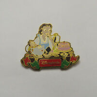 Disney DLR Dining Series Pin #6 Belle & Friends Pin