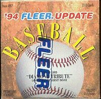1994 Fleer Baseball Complete Your Set Pick 25 Cards From List