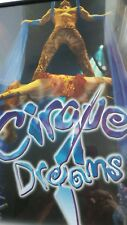 "Cirque Dreams Show Acrobat Poster Framed  14"" x 18"""