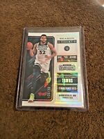Karl-Anthony Towns 2018 Contenders Draft Picks #30 Variation Cracked Ice /23