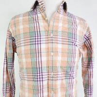POLO RALPH LAUREN REGENT CLASSIC FIT PLAID BUTTON DOWN SHIRT MENS SIZE L 16
