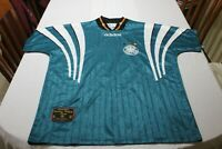 "Camiseta Futbol OFICIAL Seleccion ALEMANIA GERMANY Euro 1996 England ""XL"" ADIDAS"