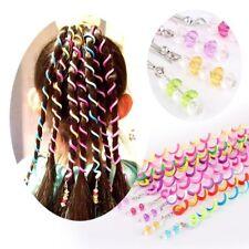 6PCS Kids Curler Hair Braid Hair Sticker Baby Girls' Decor Hair Accesories