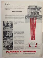 Plasser & Theurer, London, Railway Machinery, Vintage 1968 Advert