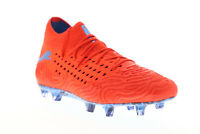 Puma Future 19.1 Netfit FG AG 10553101 Mens Red Athletic Soccer Cleats Shoes