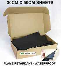 18 Sheets Sound Insulation Foam Thermal Vehicle Flame Retardant Bus Narrowboat
