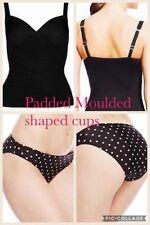 Polyamide Tankini Sets Spotted Swimwear for Women