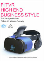 FiiT VR Virtual Reality Goggles 3D Glasses Stereo Headset Box For iPhone Samsung