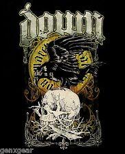 DOWN cd lgo Crow SWAMP SKULL Official SHIRT SMALL New pantera