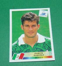 N°361 RAMON RAMIREZ MEXIQUE MEXICO PANINI FOOTBALL FRANCE 98 1998 COUPE MONDE WM