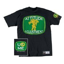 Tee shirt CATCH WWE JOHN CENA Attitude Adjustment taille M ou L enfant 7 à 11ans