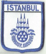 ISTANBUL TURKEY CREST FLAG WORLD EMBROIDERED PATCH BADGE