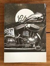 Greasy Kulture Magazine 53 GKM Harley Triumph panhead WLA ironhead Chopper BSA