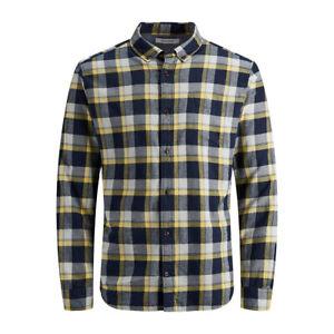 Jack & Jones Mens Check Shirt Washington Long Sleeve