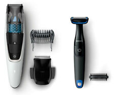 New Philips - Vacuum Beard Trimmer - BT7204/85