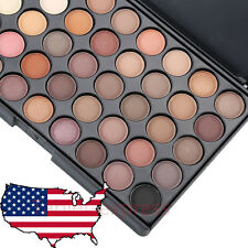 Cosmetic Matte Eyeshadow Cream Eye Shadow Makeup Palette Shimmer 40 Color #