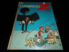 Franquin / Jidéhem / Greg : Spirou et Fantasio 16 : L'ombre Editions Dupuis 1967