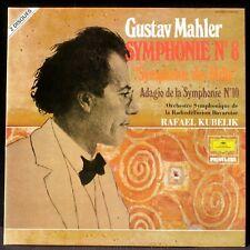 Mahler Symphonie 8 Adagio de la Xe Kubelik 2 x LP & CV NM -