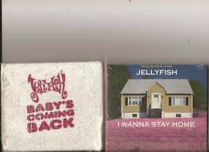 Jellyfish - I Wanna Stay Home / Baby`s Coming Back ( SEALED 3D & Nappy Pack )