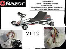 Razor Controller & Throttle Kit - Ground Force Go Kart - V1-12 - RARE CT-101C2
