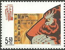 Macau - Jahr des Tigers postfrisch 1998 Mi. 946