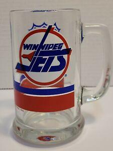 Vintage Winnipeg Jets Beer Mug 1990