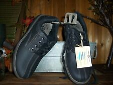 EARTH SPIRIT MENS CASUAL FORMAL SHOES SIZE 8 GRAY GELRON CUSHION LACE UP NEW