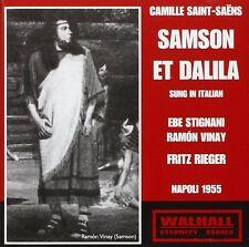 Saint-Saens - Samson et Dalila (Fritz Rieger, Naples 1955) EBE STIGNANI VINAY