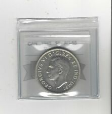 1945 , Coin Mart Graded Canadian Silver Dollar **AU-55 Cleaned**