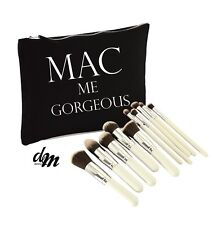Mac me Gorgeous Makeup Bag Case Zip Make Up Gift Clutch Funny Accessories