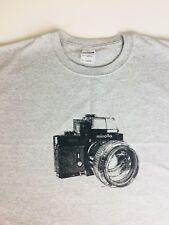 Vintage Minolta XK 35mm Camera MC Rokkor 1.2 Lens  T Shirt XXL.