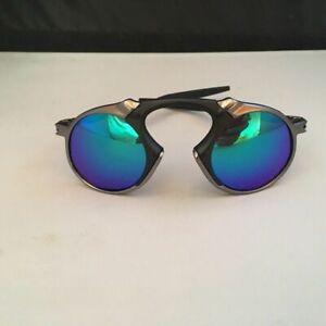 Polarized Round Sunglasses Madman Alloy Running Glasses Cycling Sport Eyewear