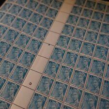 FEUILLE SHEET TIMBRE TYPE MERCURE N°660 x100 1944 NEUF ** LUXE MNH
