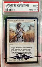 Vintage Magic | MTG PSA 9 Alpha Swords to Plowshares, NO RESERVE!!!