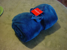 Holiday Home Red Super Soft Microplush Fleece Throw Blanket