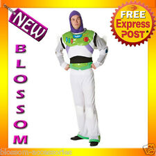 Buzz Lightyear Toy Story Adult Costume Halloween Party Fancy Dress Standard