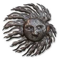 Haitian Metal Art, Windy Sun Handcrafted Metal, Fair Trade Home Decor 22x22.5in
