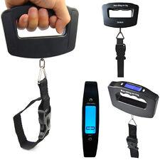50KG Portable Handheld Digital Luggage Weighing Scale Travel Suitcase Fishing