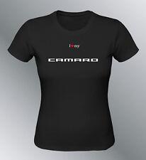 Tee shirt personnalise Camaro S M L XL femme Z28 ss ZL1 muscle car