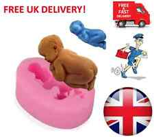 Silicone Mould 3D Sleeping Baby Christening Cake Topper Modelling Tools - UK
